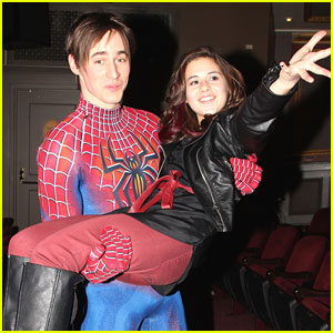 Carly Rose Sonenclar: Spider-Man with Starlight