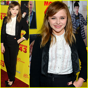 Chloe Moretz: 'Movie 43' Red Carpet Premiere