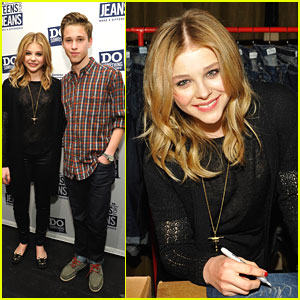 Chloe Moretz: 'Teens For Jeans' Launch with Ryan Beatty