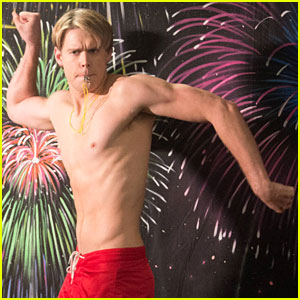 Chord Overstreet: 'Glee' Guys Go Shirtless!