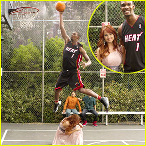 Chris Bosh Guest Stars on 'Jessie'