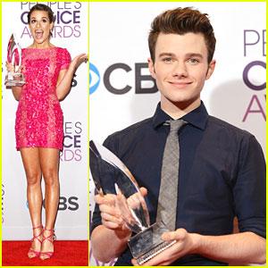 Chris Colfer & Lea Michele: People's Choice Awards 2013 Winners!