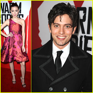 Jackson Rathbone: 'Warm Bodies' Premiere with Christian Serratos