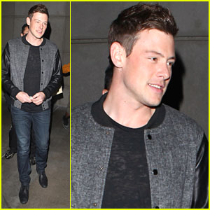Cory Monteith: Lakers Game Go-er
