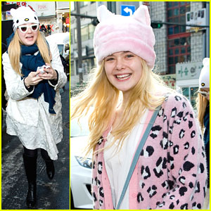Dakota & Elle Fanning: South Korea Cuties