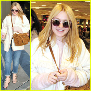Dakota Fanning: Salt Lake City Arrival