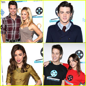 Drake Bell &#038; Drew Seeley: Lights Camera Cure Dance-A-Thon 2013!