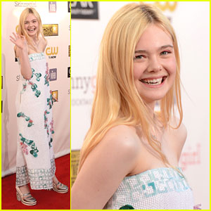Elle Fanning: Critics' Choice Awards 2013