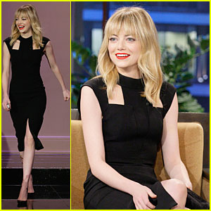 Emma Stone: 'Tonight Show with Jay Leno' Appearance!