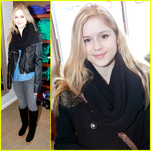 Erin Moriarty: Sears Lounge at Sundance 2013