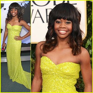 Gabby Douglas: Golden Globe Awards 2013
