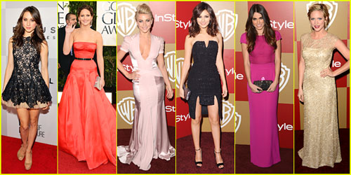 2013 Golden Globe Awards -- Best Dressed Poll!