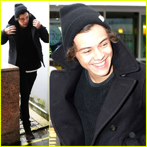 Harry Styles: Glasgow Arrival