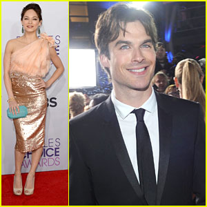 Ian Somerhalder & Kristin Kreuk: People's Choice Awards 2013