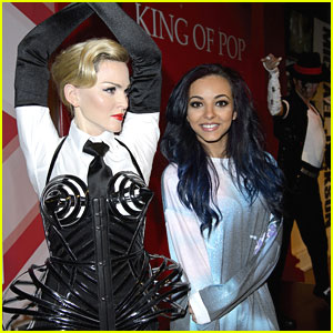 Little Mix's Jade Thirlwall: Madame Tussauds' Tourist