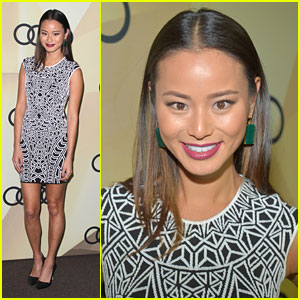 Jamie Chung: Audi Golden Globes Kick Off Party Pretty