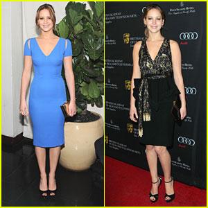 Jennifer Lawrence: BAFTA Tea Party 2013