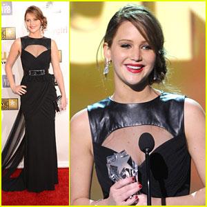 Jennifer Lawrence: Critics' Choice Awards 2013 Winner