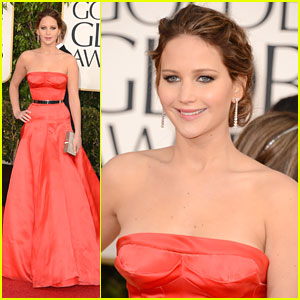 Jennifer Lawrence: Golden Globe Awards 2013