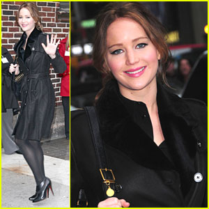 Jennifer Lawrence: 'Late Night' in New York City