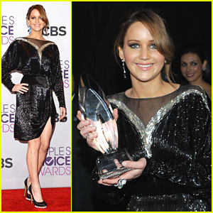 Jennifer Lawrence: People's Choice Award 2013 Winner!