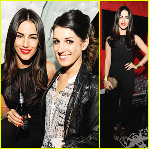 Jessica Lowndes: Beck's Sapphire Launch