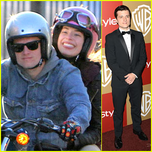 Josh Hutcherson: InStyle Golden Globe Party 2013