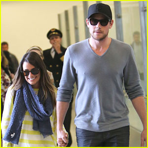 Lea Michele & Cory Monteith: Holding Hands After Hawaii Vacation