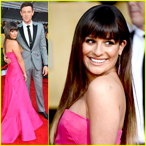 Lea Michele & Cory Monteith: SAG Awards 2013