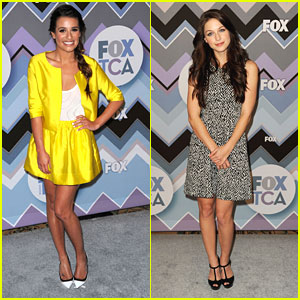Lea Michele: Fox TCA All-Star Party with Melissa Benoist