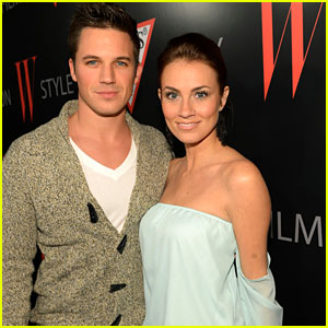 Matt Lanter & Angela Stacy Celebrate Fashion with W Mag