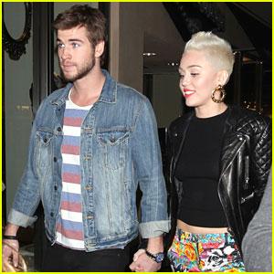 Miley Cyrus & Liam Hemsworth: Happy Birthday, Noah!
