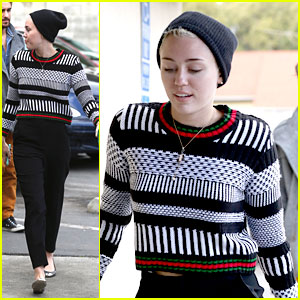 Miley Cyrus: Lunch at Hugo's