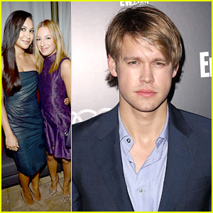 Naya Rivera: Pre-SAG Party with Vanessa Lengies & Chord Overstreet