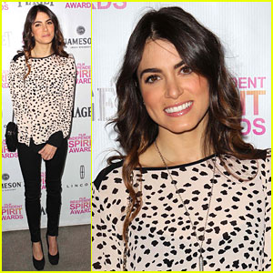 Nikki Reed: Spirit Awards Brunch 2013 with Brother Nathan