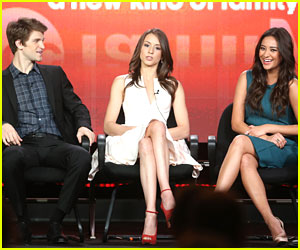 Troian Bellisario & Shay Mitchell: 'Pretty Little Liars' TCA Panel