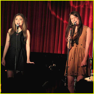 Sarah Hyland Sings 'Freedom' with Melissa Benoist