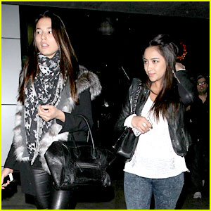Shay Mitchell & Jessica Gomes: Movie Mates