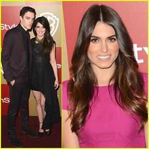 Shenae Grimes: InStyle Golden Globe Party with Nikki Reed