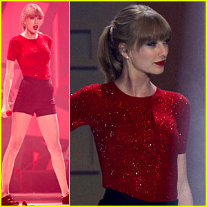 Taylor Swift: 40 Principales Awards 2013 Performance - Watch Now!