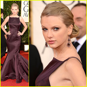 Taylor Swift: Golden Globe Awards 2013