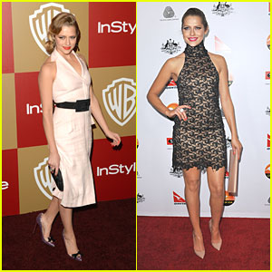 Teresa Palmer: G'Day USA Gala & InStyle Golden Globe Party 2013