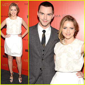 Teresa Palmer: 'Warm Bodies' NYC Screening with Nicholas Hoult