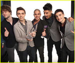 The Wanted Win at People's Choice Award 2013