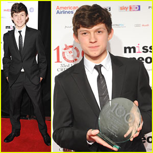 Tom Holland: London Critics' Circle Film Awards 2013