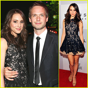 Troian Bellisario: Golden Globe Party with Patrick J. Adams