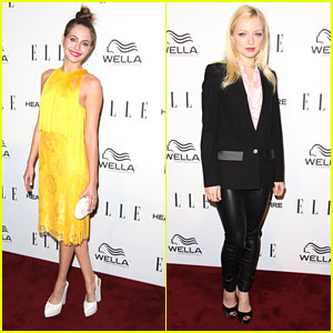 Willa Holland & Francesca Eastwood: Elle's Women in Television Two