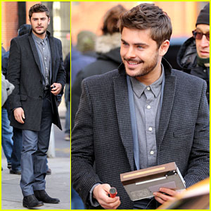 Zac Efron: Bearded in Brooklyn