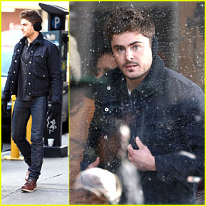 Zac Efron: Ear Muffs Man