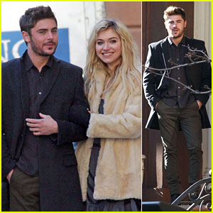Zac Efron: Arm-In-Arm With Imogen Poots!